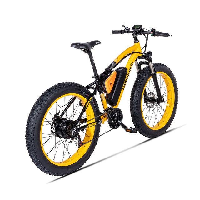 X-front vélo électrique BAFANG 500W 48V17AH moteur frein hydraulique 26*4.0 gros pneu plage Ebike montagne E vélo Bicicleta Eletrica