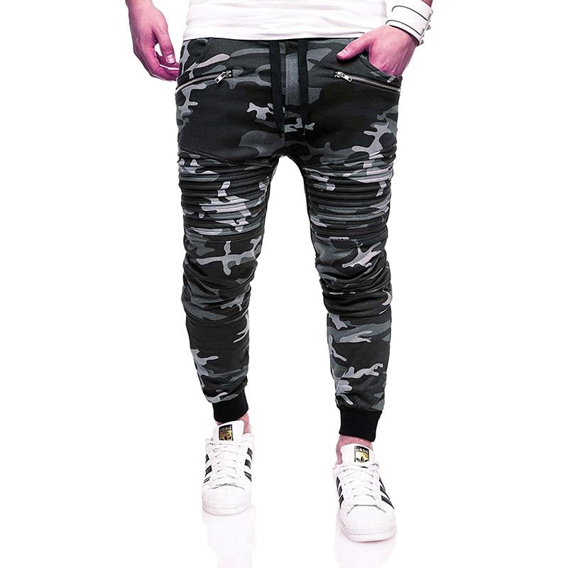 2019 Men's Streetwear Pants Hip Hop Sweatpants Joggers Trousers Tactical Mens Pants Cargo Harem Pants Men pantalones hombre