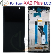 "6.0 ""para sony xperia xa2 mais display lcd tela de toque digitador assembléia substituição para sony xa 2 plus display tela(China)"