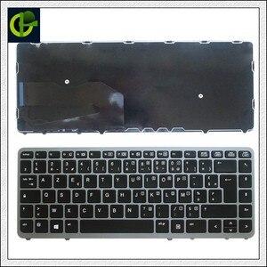 Image 2 - French Azerty Original Backlit keyboard for HP EliteBook 840 G1 840 G2 850 G1 850 G2 855 G2 ZBook 14 FR silver frame