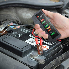 Тестер автомобильного аккумулятора цифровой тестер генератора