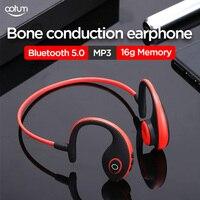 aotum headphones Bone Conduction Bluetooth 5.0 Headsets MP3 Comes with 16G memory Wireless sports earphones Handsfree headphone