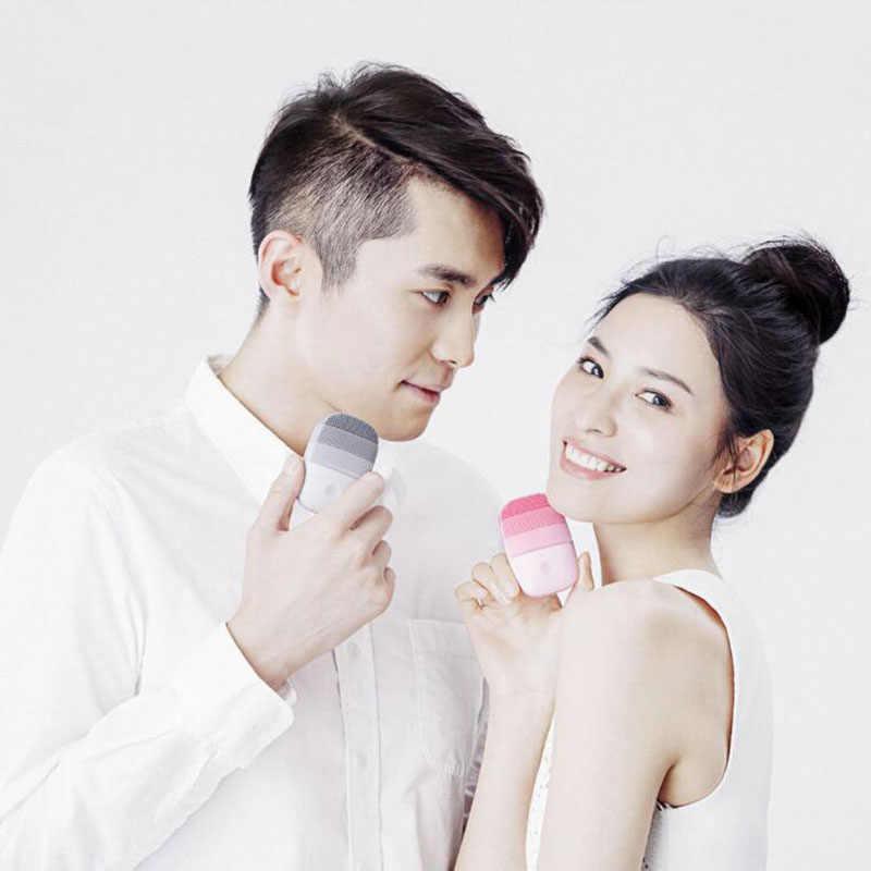 Cepillo eléctrico Xiaomi inFace para limpieza Facial profunda, cepillo de masaje sónico para lavado Facial, a prueba de agua IPX7, limpiador Facial de silicona, cuidado de la piel