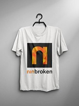 Vintage T-Shirt Nine Inch Nails Broken Fixed 1994 Reprint Size S To 2Xl(China)