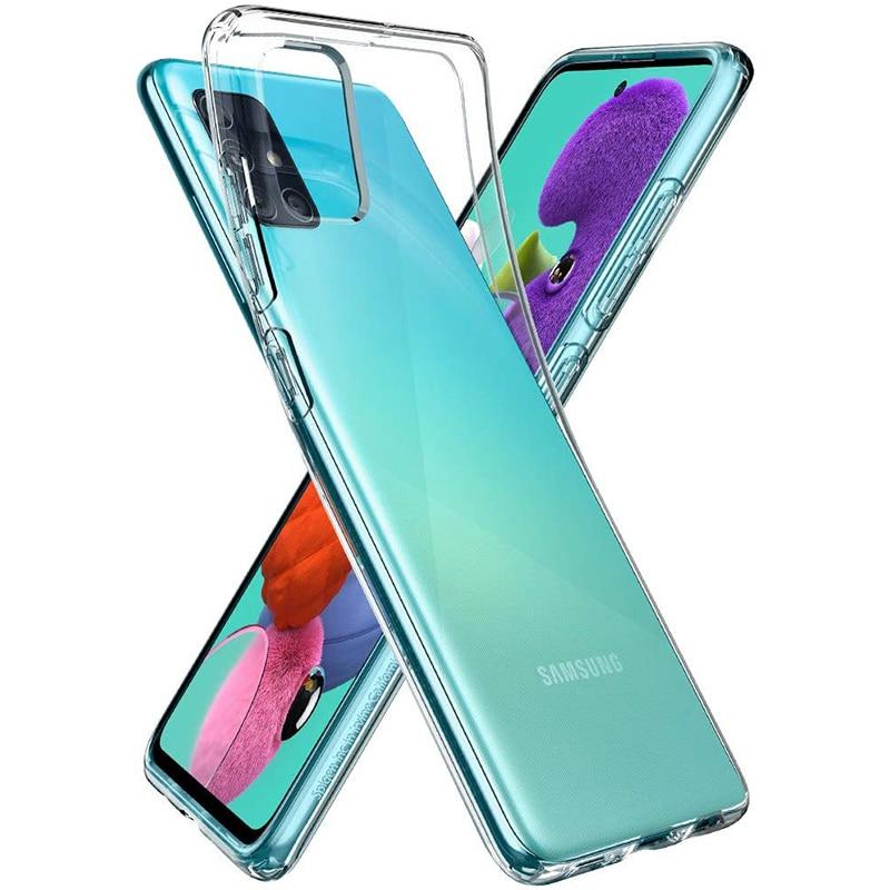 Ultrathin Phone Back Funda For Samsung Galaxy A01 A11 A21 A31 A41 A51 A61 A71 A81 A91 360 Full Cover Case Soft TPU Silicone Bags