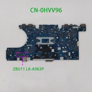 Image 2 - HVV96 0HVV96 CN 0HVV96 واط i5 5300U وحدة المعالجة المركزية LA A963P لديل خط العرض E7450 الكمبيوتر المحمول اللوحة الأم اختبار اللوحة الأم