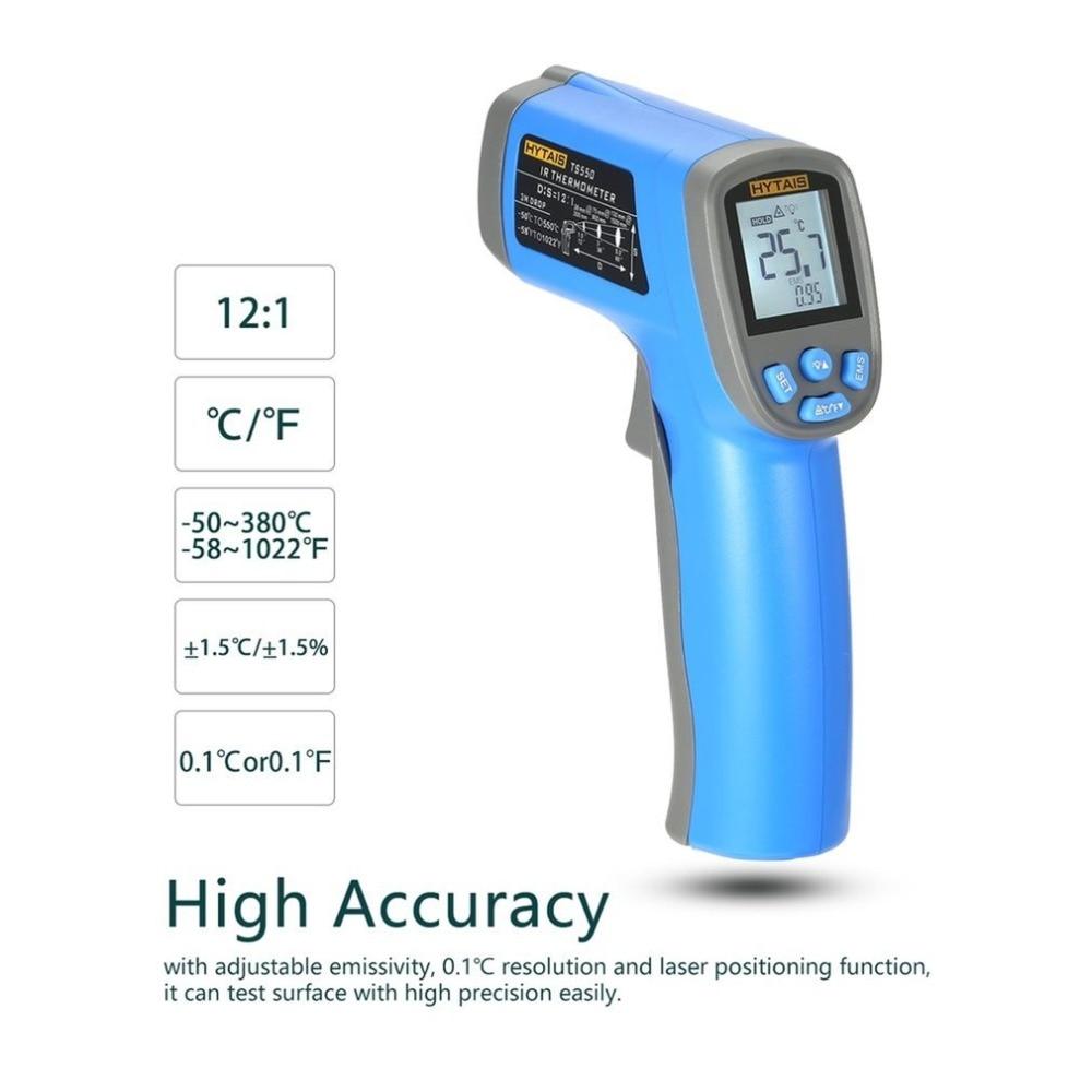 Digital Infrared Handheld Temperature Gun Thermometer Non-Contact IR Laser BE