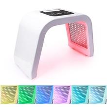 7 צבע LED פוטון אור טיפול יופי מכונה PDT מנורת טיפול עור אקנה Remover נגד קמטים נייד ספא מסכה מכונה