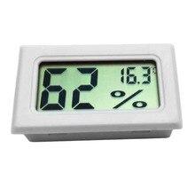 Mini Digital LCD interior conveniente Sensor de temperatura medidor de humedad termómetro higrómetro medidor nueva llegada tienda mundial