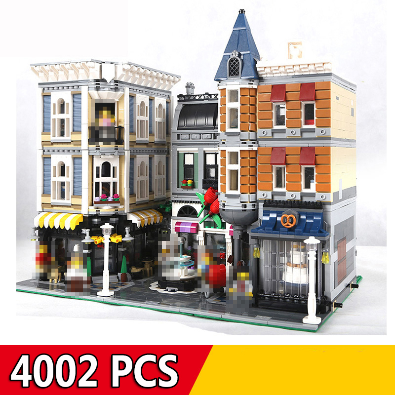 Compatible Legoings City Street View Series 15001 15002 15003 15004 15005 15006 15008 15009 15010 15011 15019 15042 Building