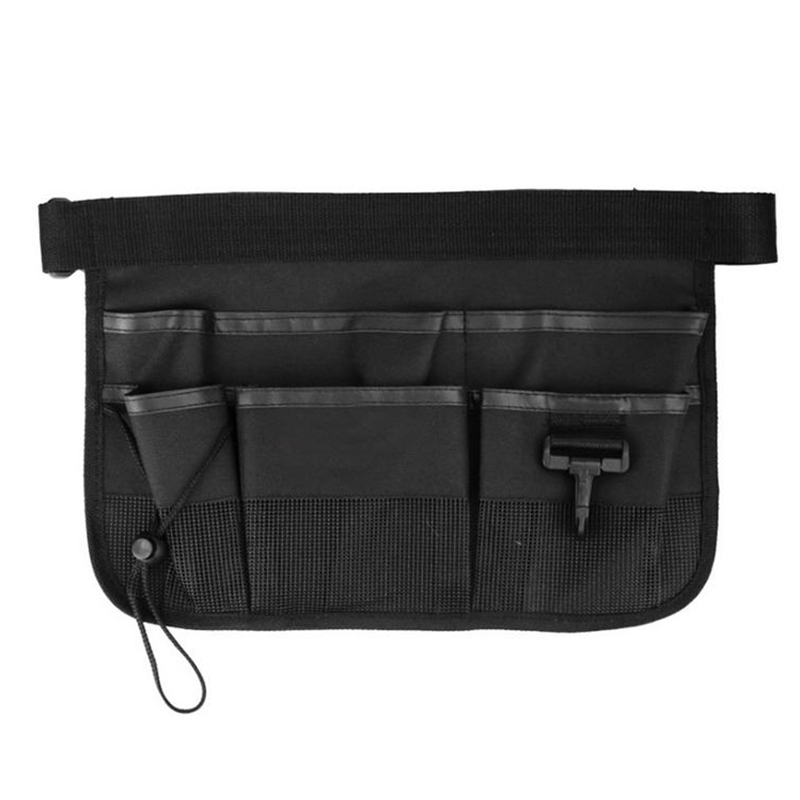 Garden Cleaning Tool Bag With Cover Tool Belt For Screwdriver Pouch Durable Waist Tool Holder Black