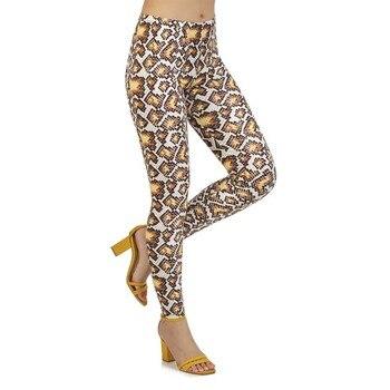 Brand New Leggings Women Outdoor Sport Running 3D Print Hip-lifting Fashion Sexy Snakeskin Fitness Pants