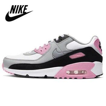 2020 NEW NIKE AIR MAX 90 LTR GS Women's Running Shoes Outdoor Sports Shoes Nike Air Max 90 QS GS Women Pink Sneaker