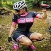 2020-kafitt-pro feminino corrida triathlon camisa de uma peça vestido pequeno macaco manga curta terno roupas de trabalho ciclismo gel 8