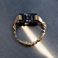 Statement Jewelry 1017 ALYX 9SM ALYX Bracelet Bnagle Hip Hop high Performance Design Party Christmas Teens Gifts