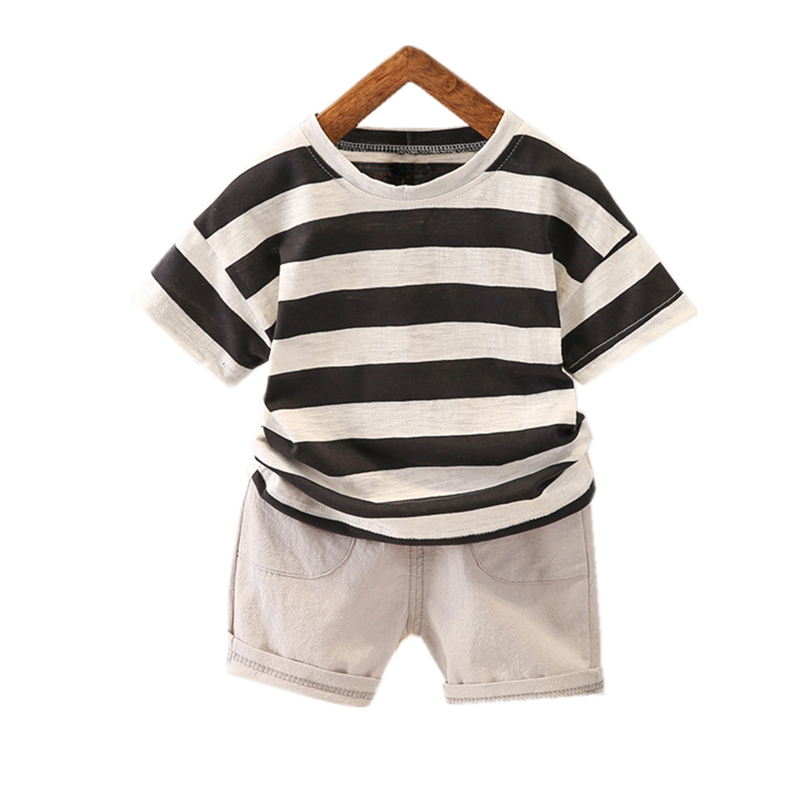 Toddler Kids Infant Newborn Baby Boy Hooded Vest Tops+Shorts Outfits Clothes US