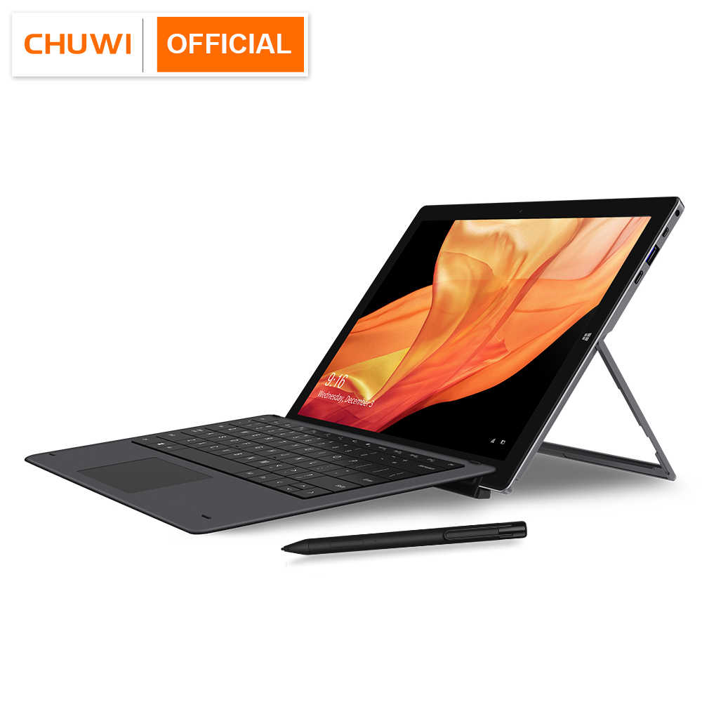 CHUWI UBook פרו 12.3 אינץ 1920*1280 Windows 10 Tablet PC אינטל תאומים-אגם N4100 Quad ליבת מעבד 8GB RAM 256GB SSD טבליות