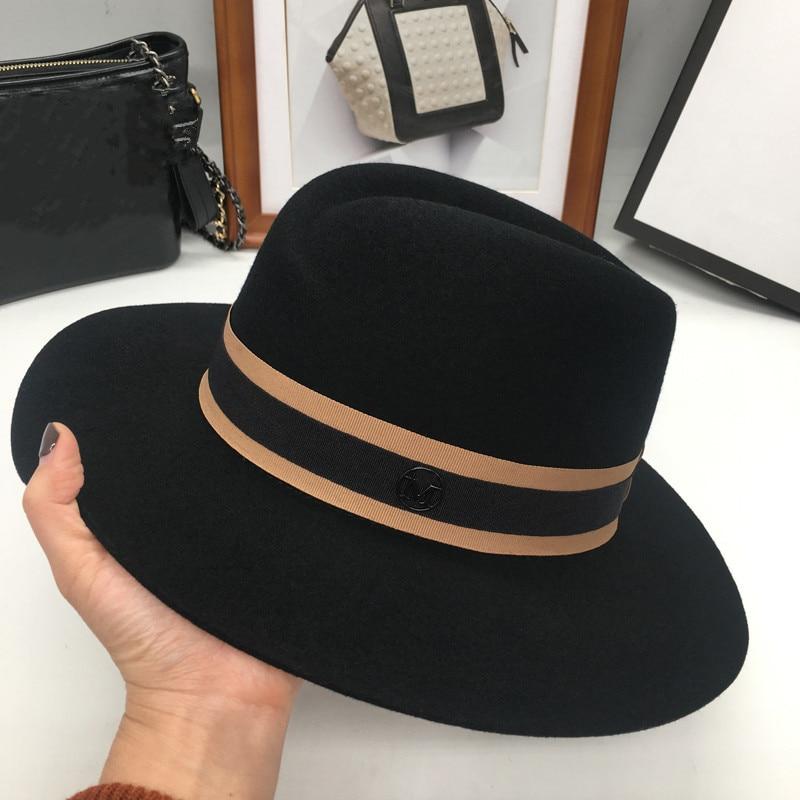 Новая английская флисовая шляпа в форме Ретро М шляпа и ветер и волна. Универсальная шапка-in Мужские фетровых from Аксессуары для одежды on AliExpress - 11.11_Double 11_Singles' Day