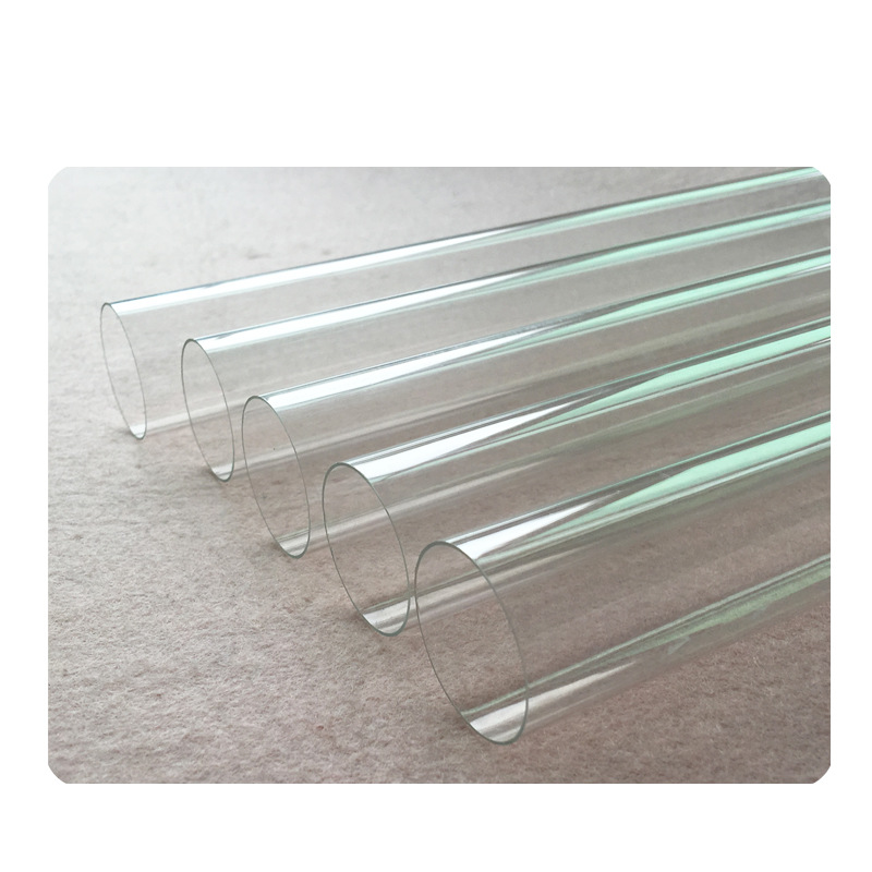 Transparent PC Tube PC Casing Pipe High Hardness And High Transparent PC Pipe Material Support Gift Plastic Pipe Conduit