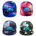 Детская светящаяся Кепка Fortnite, крутая шапка звездного неба, игрушка, подарок на день рождения для детей, Брезентовая бейсболка для детей и в...