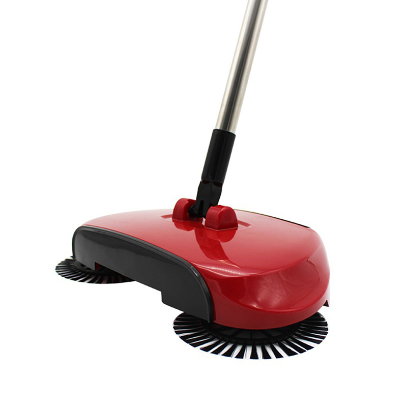 Vacuum-Cleaner Sweeper Broom Hand-Push Household Plastic Dustpan-Handle Push-Type Portable