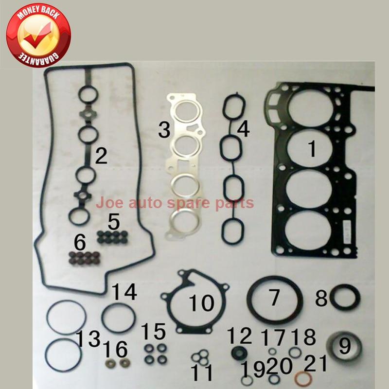 3SZ 3SZVE Moteur joint Complet kit pour Daihatsu SIRION M3 TERIOS J2 MATERIA M4 1.5L 2005-50322500 04111-BA170 04111BA170