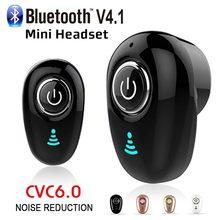 5 cores sem fio fone de ouvido estéreo mini bluetooth handfree com microfone esporte invisível handsfree fone para todos os telefones