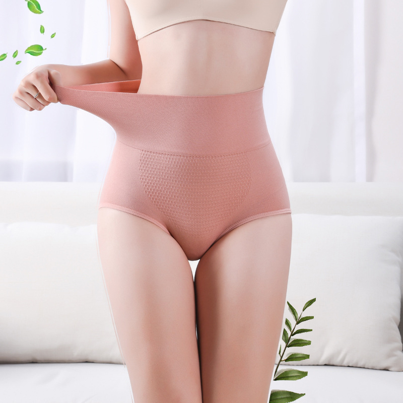 3D Honeycomb Corset Underwear  Lady  High Waist Slimming Tummy Control Knickers Pants Seamless  Body Shapewear Briefs Women