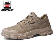 Мужские кожаные туфли apple классические дизайнерские кроссовки