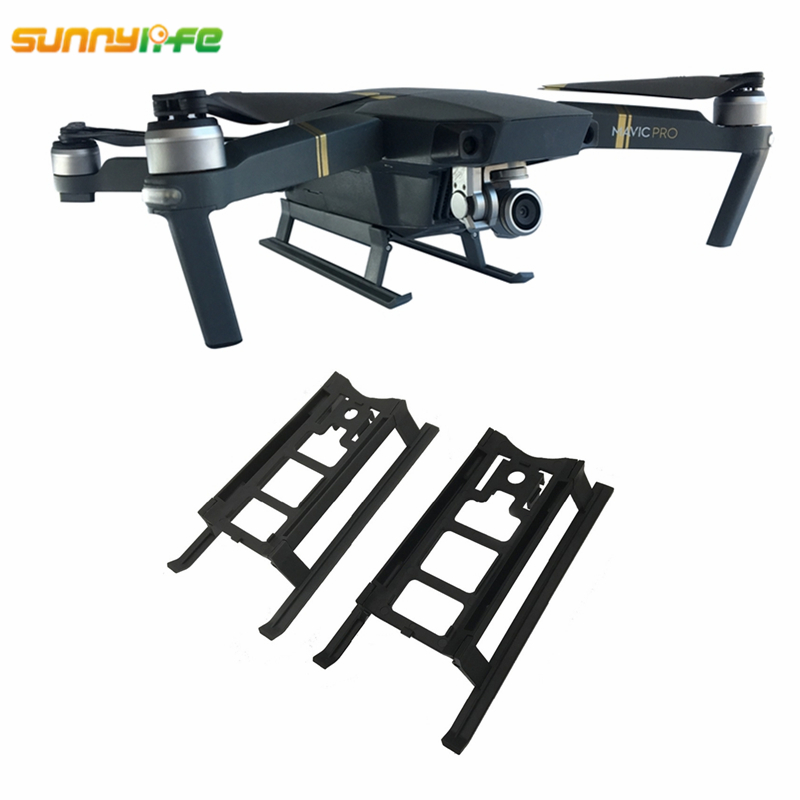 For DJI Mavic Pro Drone Landing Gear Stabilizer Mavic Platinum Heighten Foldable Sled Extender Leg For DJI Mavic Pro Accessories