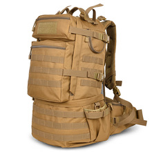 Классический военный армейский рюкзак 50 л, нейлоновые водонепроницаемые Рюкзаки для кемпинга, походов, треккинга, камуфляжные рюкзаки, вместительная мужская сумка