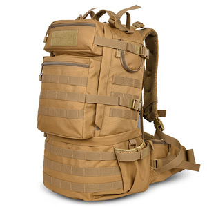 Image 1 - Sac à dos militaire classique, sacoche militaire étanche en Nylon 50l, randonnée camping Camouflage, grande capacité pour hommes