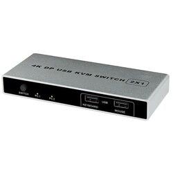 ماوس دعم منفذ مزدوج اتصال ديسبلايبورت HDMI USB 1 خارج الكمبيوتر التوصيل والتشغيل مفتاح ماكينة افتراضية معتمدة على النواة 4K 60Hz رصد مستقر VGA