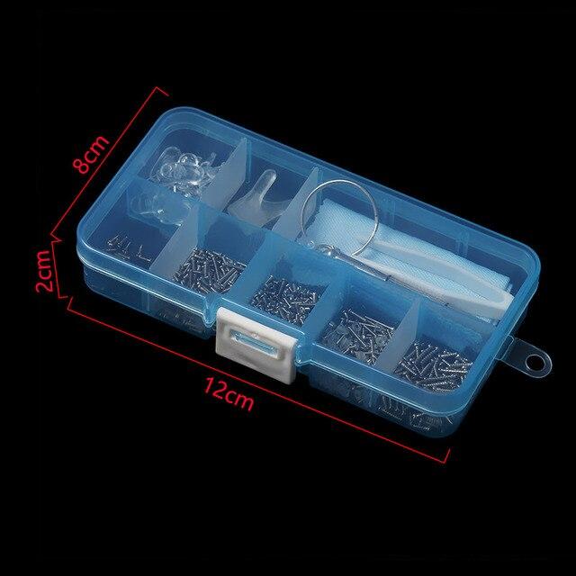 1Pc nowy Hot praktyczne okulary okulary śruby zestawy nakrętki noski optyczne narzędzia do naprawy części różne zestawy akcesoria