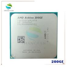 AMD Athlon 200GE X2 200GE 3,2 GHz Dual Core Quad Gewinde CPU Prozessor YD200GC6M2OFB Buchse AM4