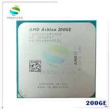 Amd Athlon 200GE X2 200GE 3.2 Ghz Dual Core Quad Draad Cpu Processor YD200GC6M2OFB Socket AM4