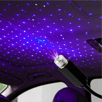 LED Car Roof Star Night Lights Projector for Volkswagen VW Passat b6 b8 b5 b7 Golf 4 5 6 mk7 mk6 mk3 t5 t6 polo tiguan cc jetta image