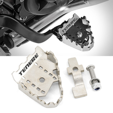FOR YAMAHA TENERE 700 Tenere700 XTZ 700 T700 Motorcycle Accessories Brake Lever Extension Pedal Step Tip Plate Enlarge Extender