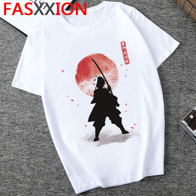 Hadfa455b4df642babd30651f59892115E - Demon Slayer T-shirt  Graphic Tees Men Streetwear  Japanese Anime Cool Tshirt Funny Cartoon Kimetsu No Yaiba T Shirt Male