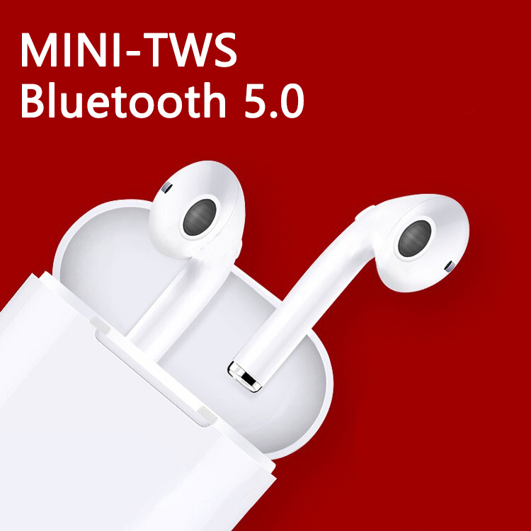 i7s mini  TWS Wireless Earpiece Bluetooth 5.0 Earphones sport Earbuds Headset With Mic For Phone Xiaomi Samsung Huawei iphone