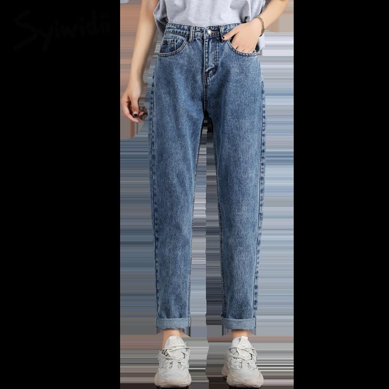 plus-size-Mom-jeans-women-high-waist-boyfriend-jeans-for-women-Harem-Pants-denim-street-style