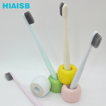 Factory Wholesale Supplier Bamboo Charcoal Toothbrush Japanese Pure Soft Hair Four Toothbrushes High Quality Brush