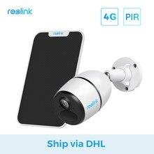 [Schip Via Dhl] Reolink 4G Lte Camera Go 1080P Werken Met Sim-kaart Weerbestendig Oplaadbare Batterij aangedreven Ip Camera