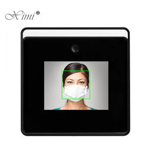 Touch-Screen Time-Attendance Face Recognition Temperature Wifi Terminal Measurement Dynamic