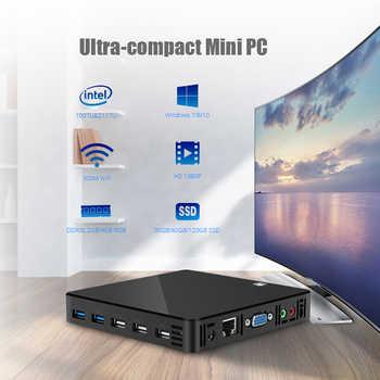 HLY Ultra thin Mini Computer Celeron 1007U Pentium 2117U 1.80GHz Mini PC windows xp TV BOX HDMI VGA Family computer