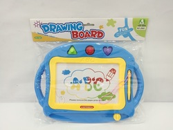 Children Color Magnetic Drawing Board WordPad Baby Educational DIY Graffiti Plastic Drawing Board Toy Gift Batch
