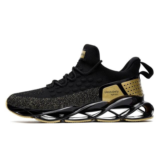 TaoBo גברים גודל 47 46 להב נעלי ריצה ריפוד סניקרס חיצוני נשימת נעלי ספורט מקצועי אימון נעלי Zapatills
