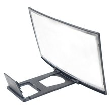 12 Inches 3D Phone Screen Magnifier Movie Video Amplifier Holder Enlarger Screen Screen