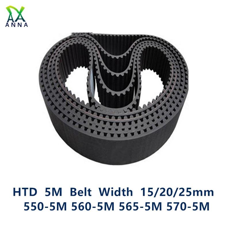 Zahnriemen HTD 110 Zähne Timing Belt 12 mm Breit 550 5M