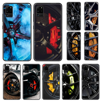 cool Sports Car Wheel Tire Phone case For Samsung Galaxy S 3 4 5 6 7 8 9 10 Plus Lite Edge black silicone prime fashion hoesjes image